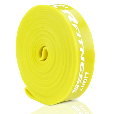 Furinno RFitness RF1506-YL Professional 41-Inch Long LOOP Stretch Latex Exercise Band, LIGHT (Yellow)