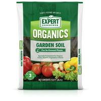 Expert Gardener Organics Garden Soil for In-Ground Plants, 1 cu. ft.