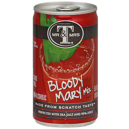 Mr & Mrs T Bloody Mary Drink Mix, 5.5 oz (Pack of 24)