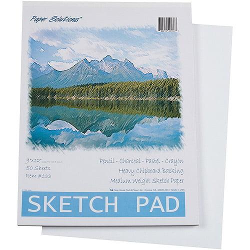 Darice Sketch Pad, 50 Sheets per Pack