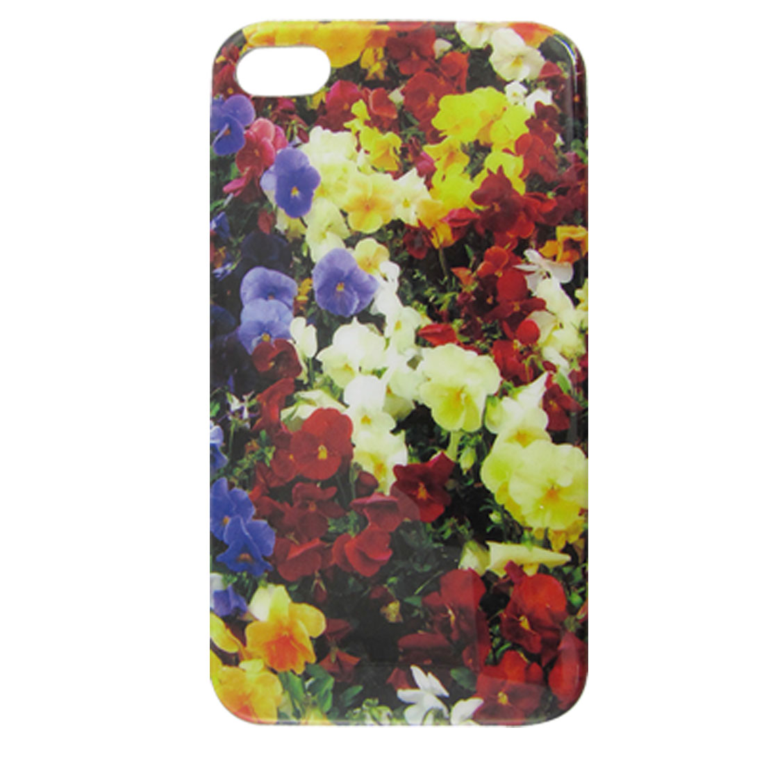 IMD Flowery Print Hard Plastic Shield Cover for iPhone 4 4G 4S - image 1 of 1