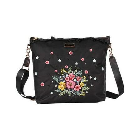 Women's Nicole Lee Adira Embroidery Garden Cross Body Bag  15.25
