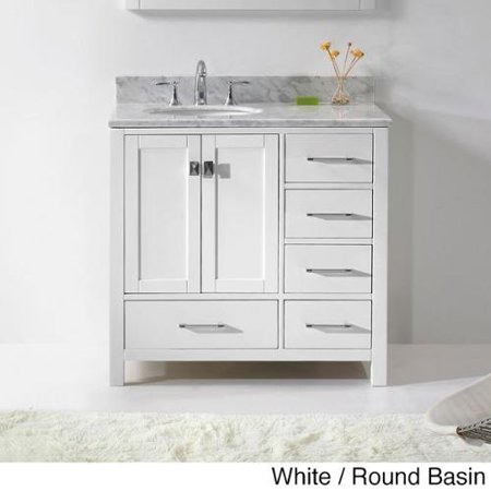 Virtu usa caroline avenue 36 inch single sink bathroom Virtu usa caroline 36 inch single sink bathroom vanity set