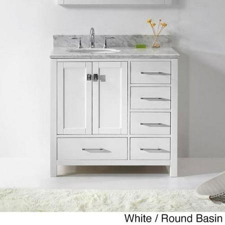 Virtu Usa Caroline Avenue 36 Inch Single Sink Bathroom: virtu usa caroline 36 inch single sink bathroom vanity set