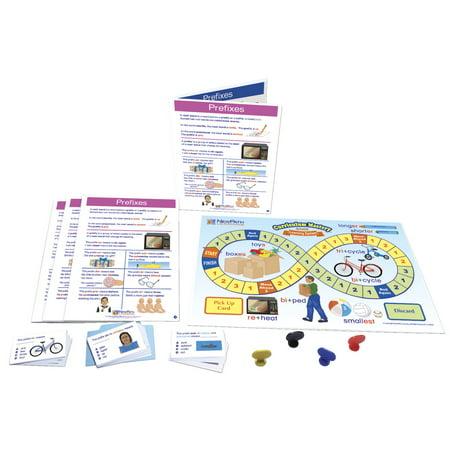 NewPath Prefixes Learning Center Game, Grades 1 to - Prefix Game