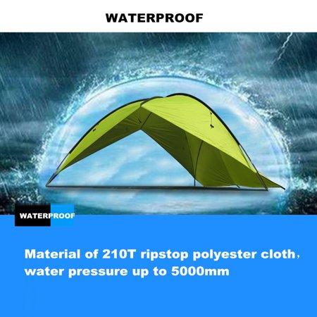Asewun Portable Large Sun Shade Tent Canopy Waterproof