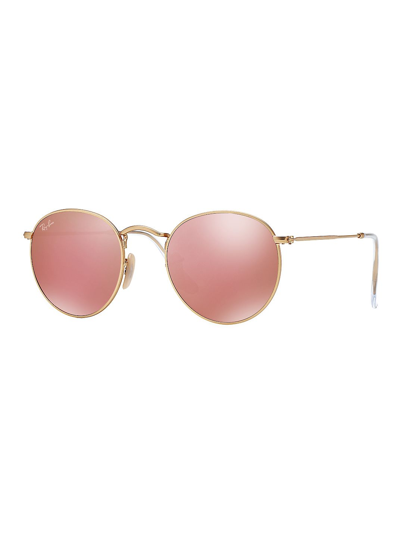 50MM Legends Round Metal Sunglasses