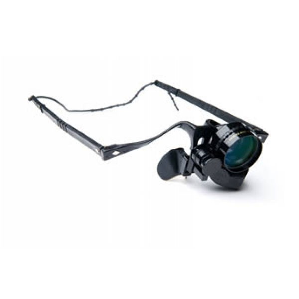 Beecher Mirage 4.5x25 Monocular for Distance Viewing Left Eye Only by Beecher Optical Products
