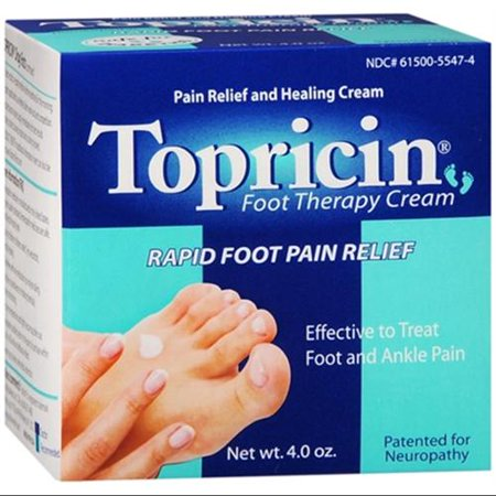 Topricin Foot Therapy Cream (4 oz Lot de 2)