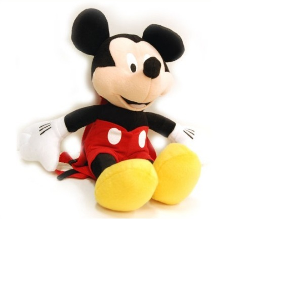 Plush Backpack   Disney   Mickey Mouse   Gifts Toys Soft Doll New Soft 38660
