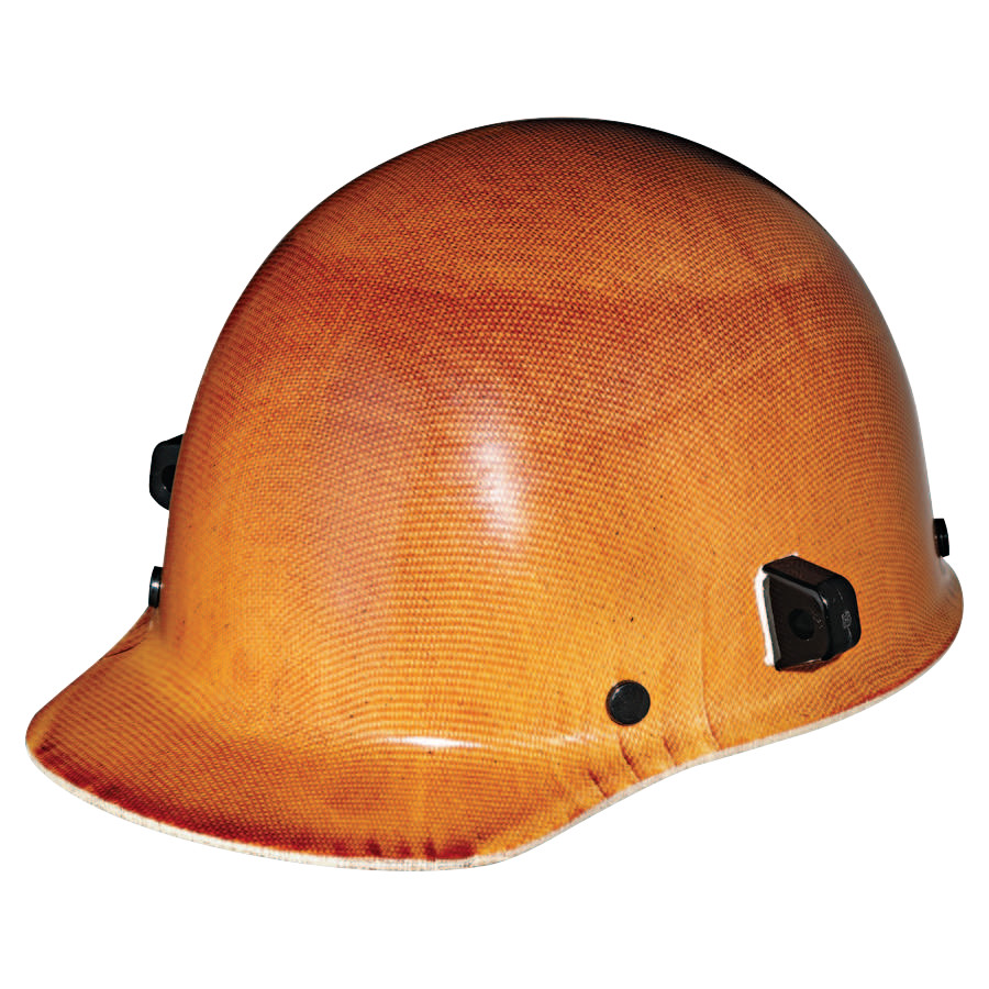 MSA Skullgard Protective Caps and Hats, Fas-Trac Ratchet, Cap, Natural Tan