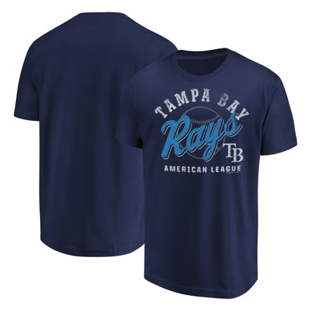 - Tampa Bay Rays Fanatics Branded Available T-Shirt - Navy