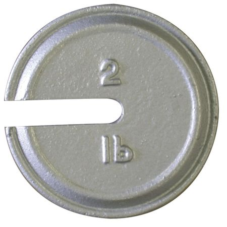 RICE LAKE 12848TR Calibration Weight, 2 lb., Polished