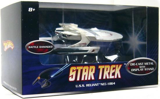Star Trek Hot Wheels U.S.S. Reliant NCC-1864 Diecast Vehicle [Battle DaMaged] by