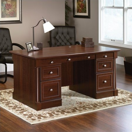 Kingfisher Lane Executive Desk in Select Cherry