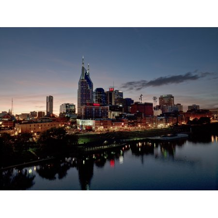 Aerial Night Skyline of Nashville Tennessee  Nashville is the capital of the US state of Tennessee and the county seat of Davidson County It is the second most populous city in the state after Memphis (Party City In Nashville Tennessee)