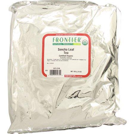 Frontier Natural Products - Bulk Sencha Tea Organic, Lb