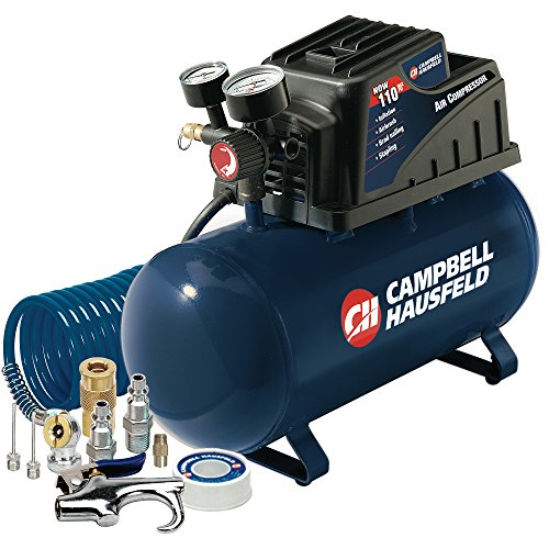 Campbell Hausfeld 3-Gallon Air Compressor with 10 Piece K...
