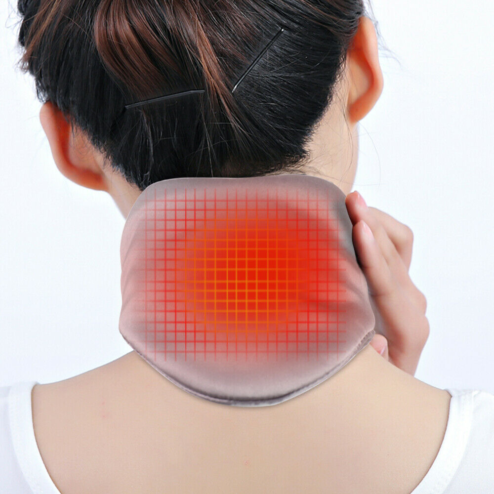 Graphene Neck Heating Pad Therapy Usb Heated Neck Wrap For Headache Pain Relief Walmart Com Walmart Com
