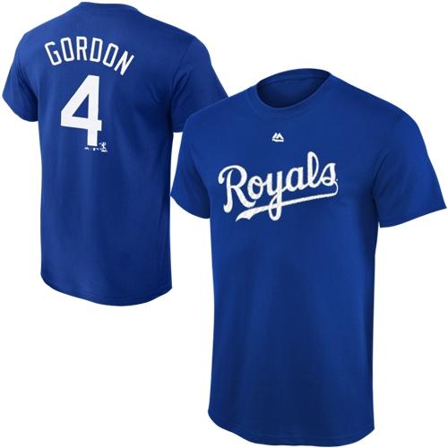 Alex Gordon Kansas City Royals Majestic Youth Player Name & Number T-Shirt - Royal