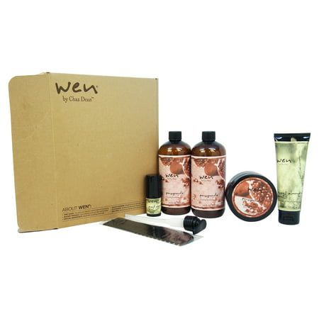 Chaz Dean Wen Hair Care Deluxe Kit, Pomegranate, 6 (Wen By Chaz Dean Customer Service Number)