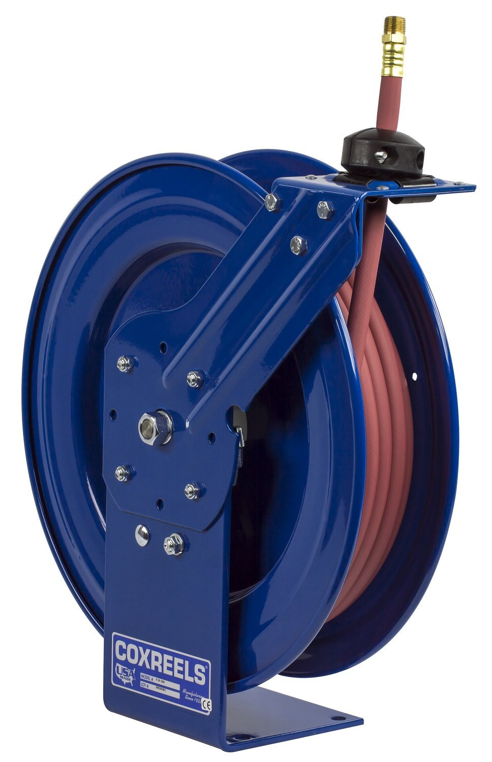 Coxreels P LP 125 Low Pressure Retractable Air/Water Hose Reel: 1