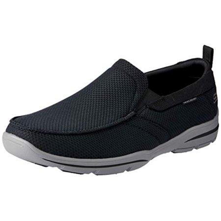 Skechers Men's Relaxed Fit: Harper - Walton Black 7.5 D Us