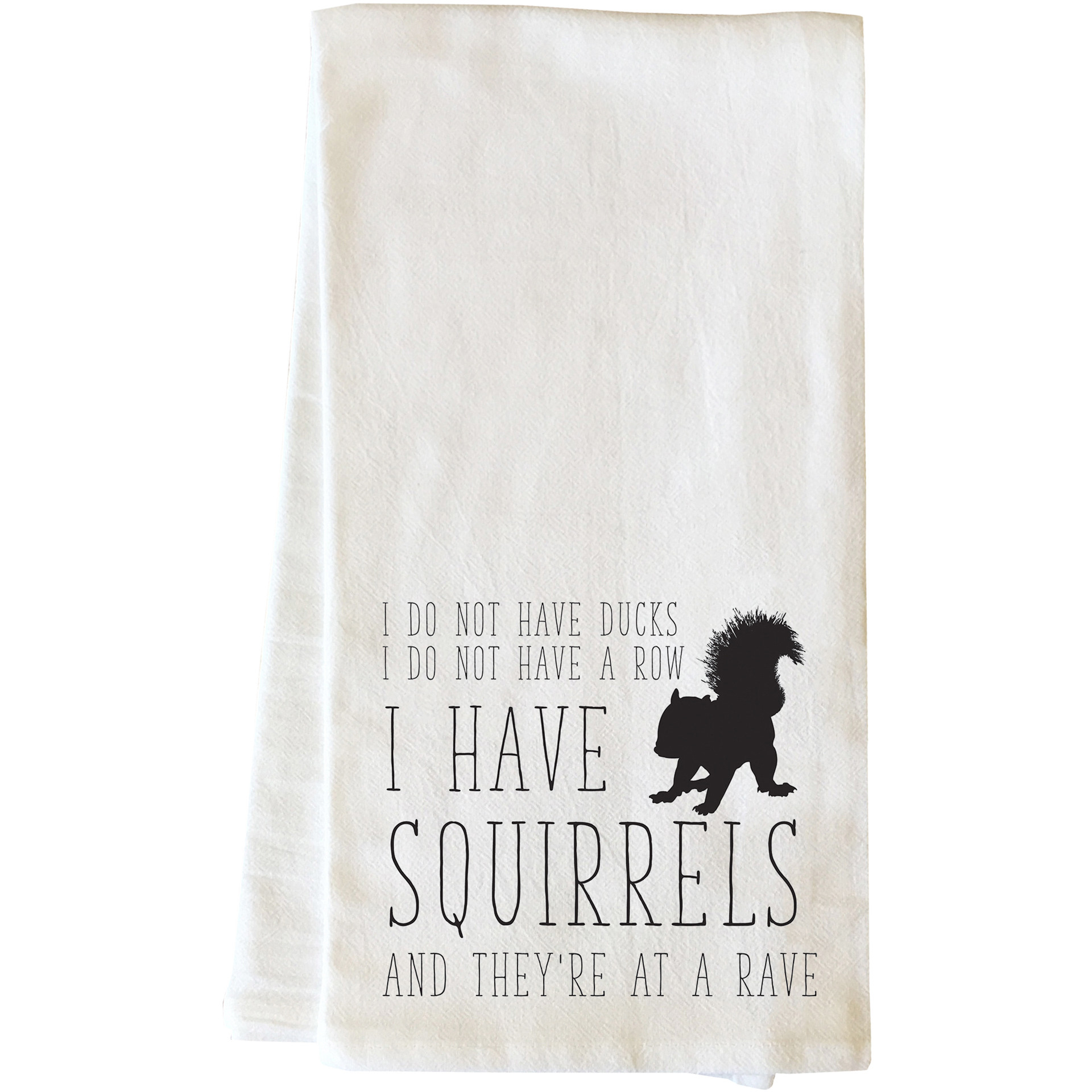 """""""Squirrels"""" Tea Towel by OneBellaCasa"""