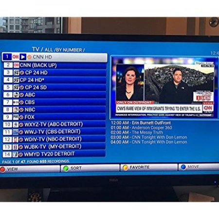 MAG 254 IPTV Box With IPTV Service Subscription + HDMI Cable