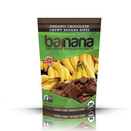 Organic Chocolate Chewy Banana Bites   3 5 Ounce  100 Grams  By Barnana
