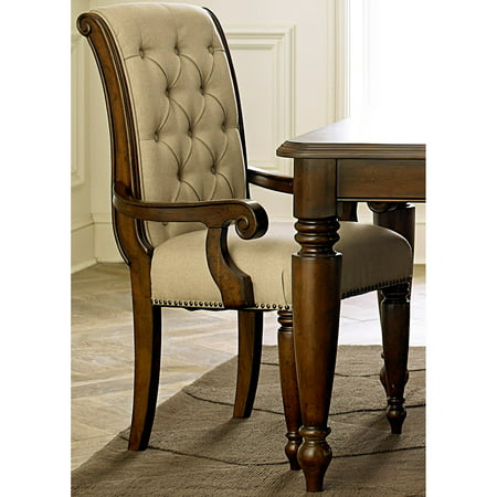 Liberty Furniture Industries Cotswold Upholstered Dining Arm Chair ()