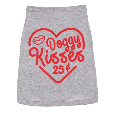 Jack Russell Tie - Doggy Kisses Shirt Clothes For Dogs Funny Jack Russel and Lab Lovers Apparel
