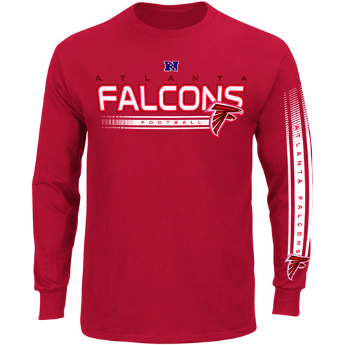 NFL - Men's Atlanta Falcons Long Sleeve Team Tee