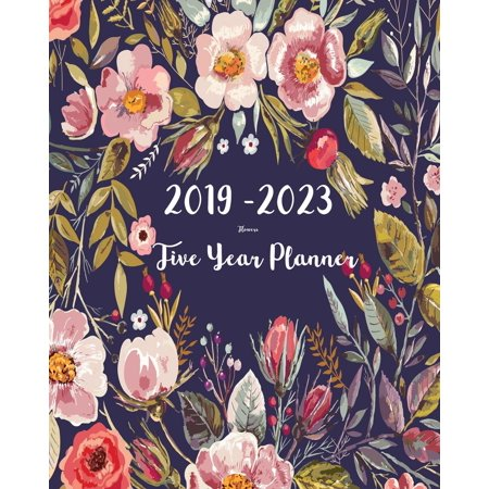 2019-2023 Five Year Planner- Flower : 60 Months Planner and Calendar, Monthly Calendar Planner, Agenda Planner and Schedule Organizer, Journal Planner and Logbook, Appointment Notebook, Academic Student Planner for the - Halloween Quiz For Students