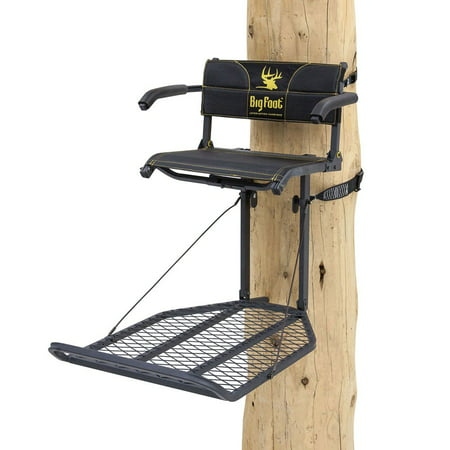(Rivers Edge Big Foot XL Lounger Hang On Extra Wide Portable Hunting Tree Stand)
