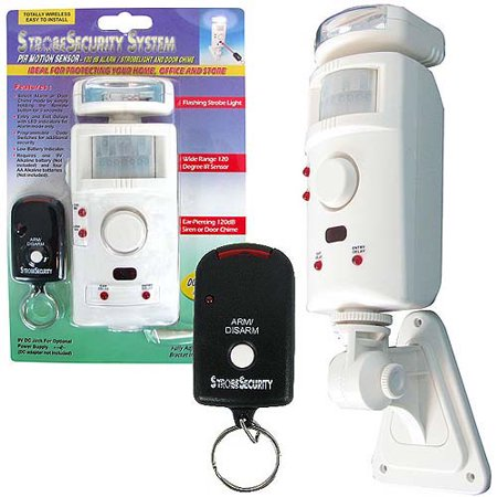 As Seen on TV Trademark Strobe Security System