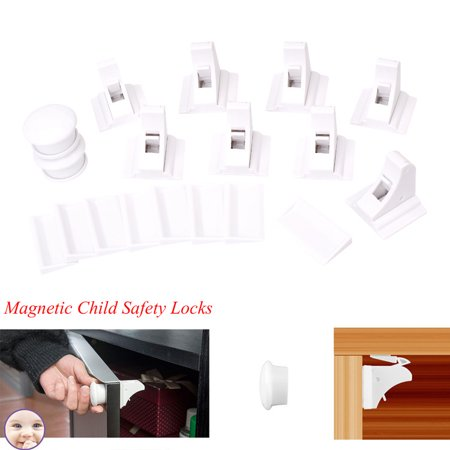 Magnetic Child Safety Locks Baby Pet Proof Drawer Cabinet