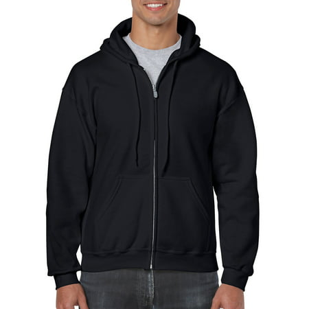 Garnet Mens Sweatshirt - Men's Full Zip Hooded Sweatshirt