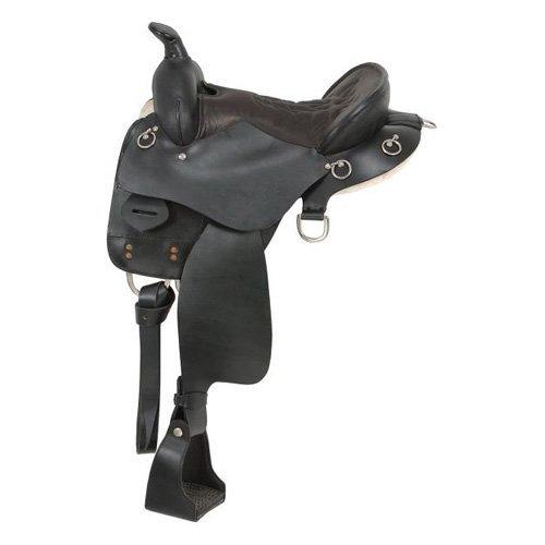 King Series Trekker Endurance Saddle with Horn