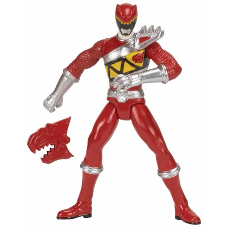 Power Rangers Dino Charge Red Ranger Action Figure - Power Ranger Dinosaurs