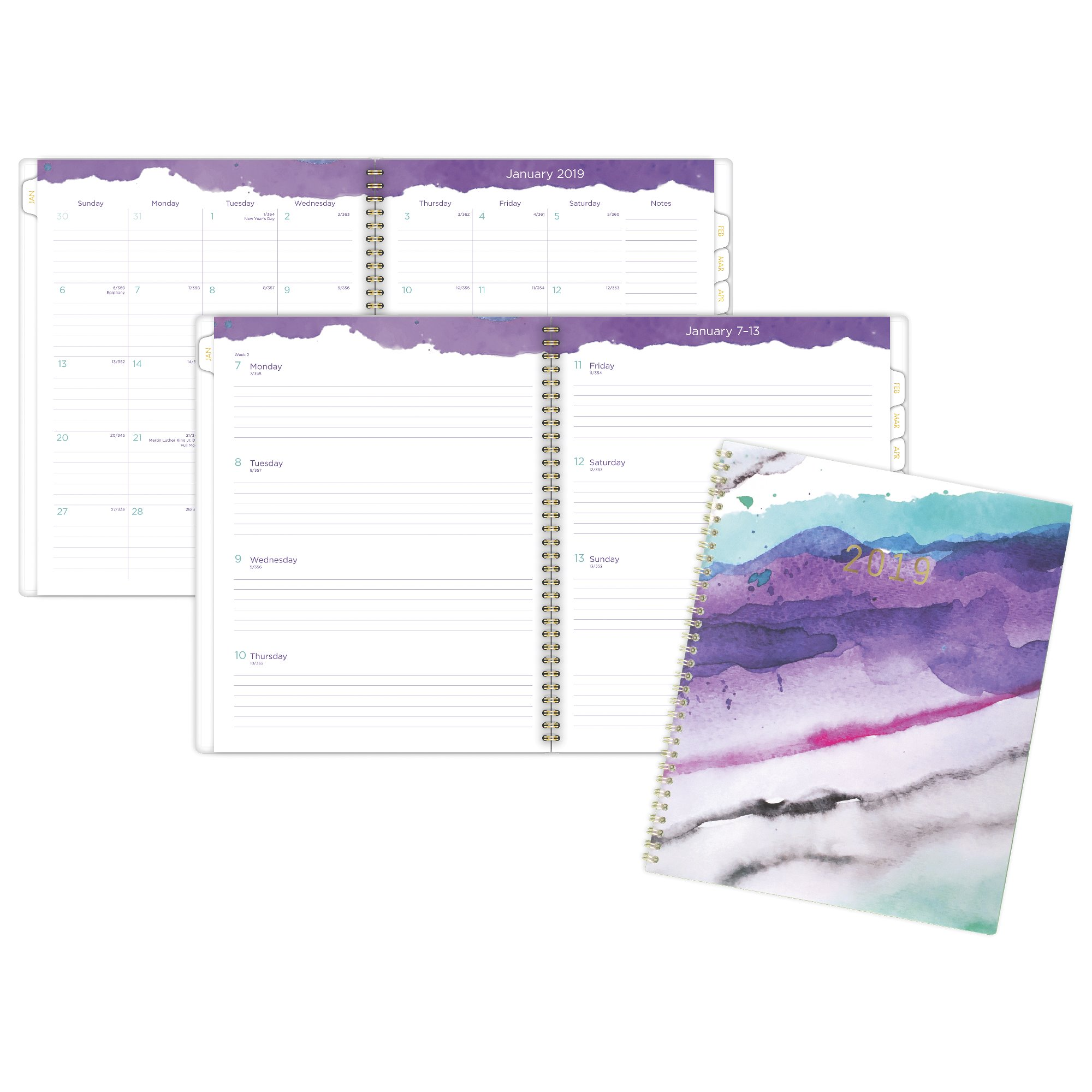 Cambridge Mirage Weekly-Monthly Planner - 2019 Weekly-Monthly Planners
