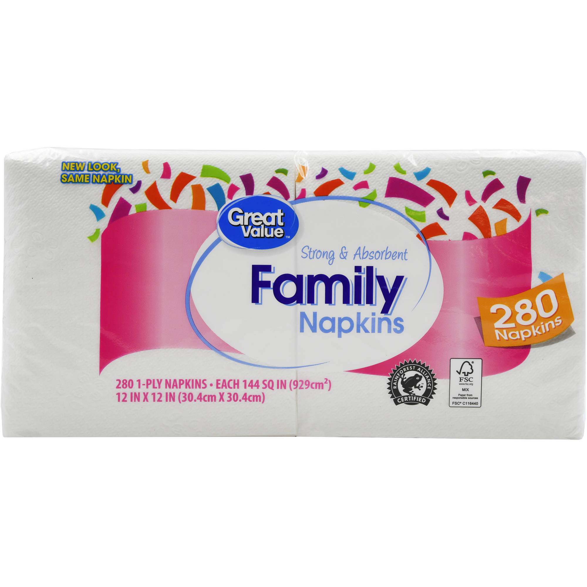 Family Napkins, 280 count