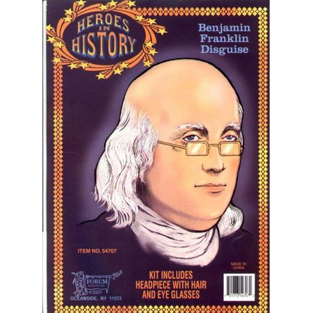 Heroes In History Costumes (Costumes For All Occasions Ru54707 Franklin Heroes In)