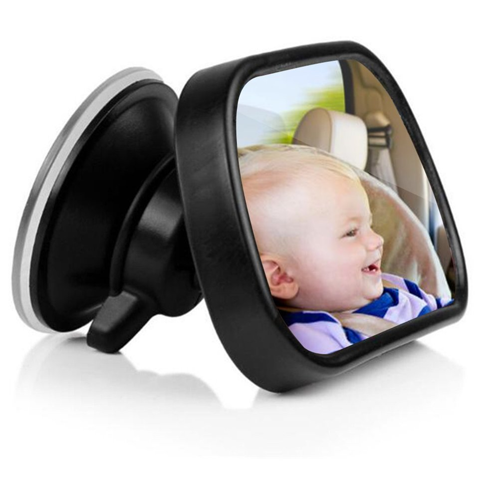 Universal Car Rear Seat View Mirror Baby Child Safety With Clip and Sucker by OUTAD