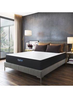 Modern Sleep Cool Gel 10.5-Inch, 12-Inch or 14-Inch Memory Foam Mattress