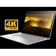"""HP Envy 17t Premium 17.3 inch UHD 4K Laptop PC (Intel 8th Gen Quad Core Processor, 32GB RAM, 2TB HDD + 1TB SSD, 17.3"""" 4K UHD (3840x2160) Display, NVIDIA GeForce MX150 4GB, DVD, Win 10 Home)"""