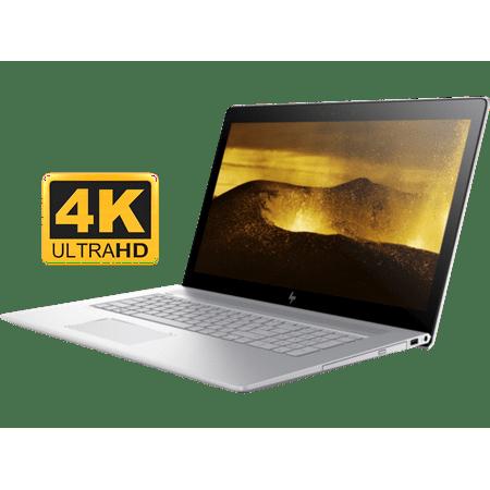 """HP Envy 17t Premium 17.3 inch UHD 4K Laptop PC (Intel 8th Gen Quad Core Processor, 16GB RAM, 1TB HDD, 17.3"""" 4K UHD (3840x2160) Display, NVIDIA GeForce MX150 4GB, DVD, Win 10 Home)"""