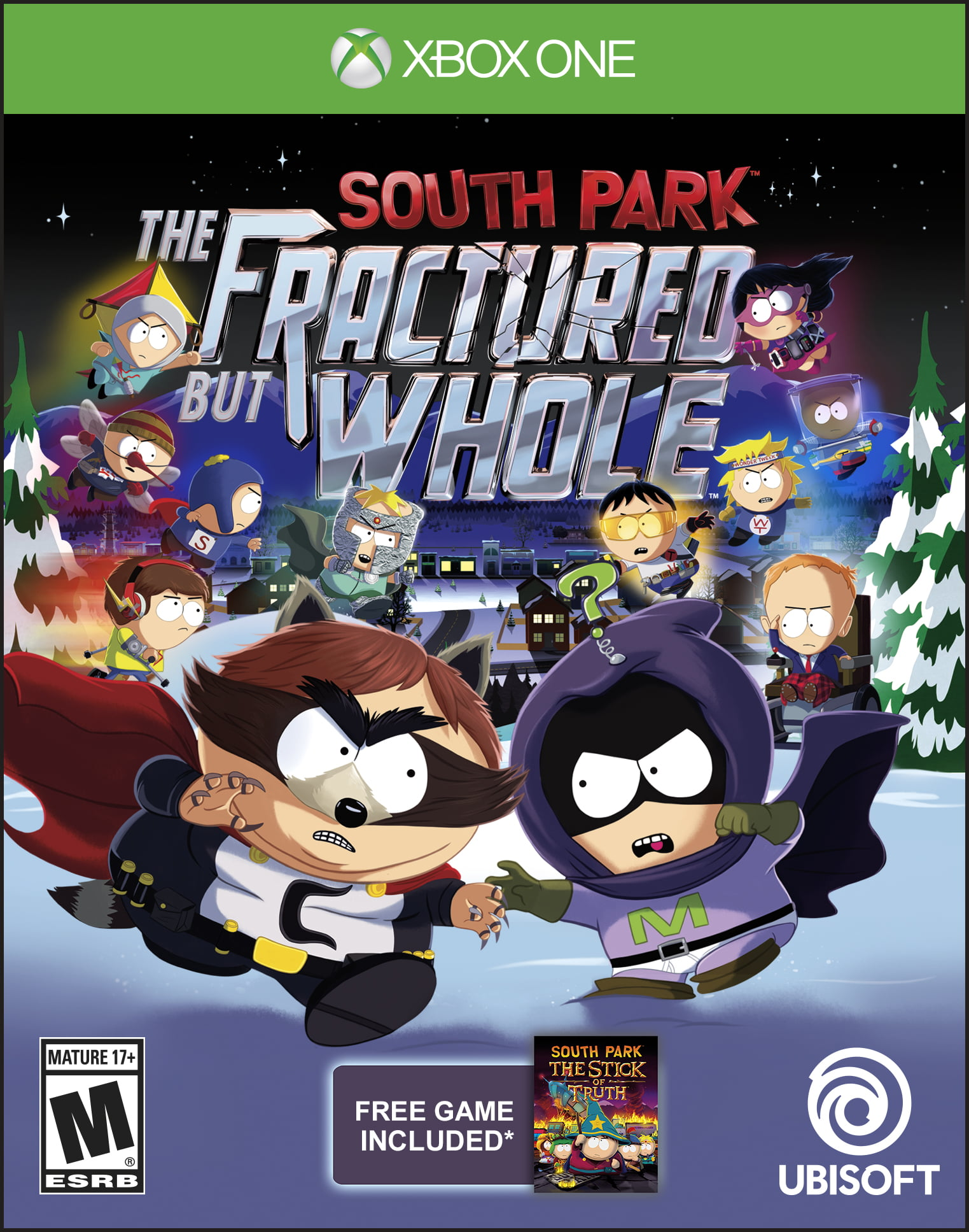 South Park: The Fractured But Whole Day 1 Edition, Ubisoft, Xbox One, 887256015787 by Ubisoft