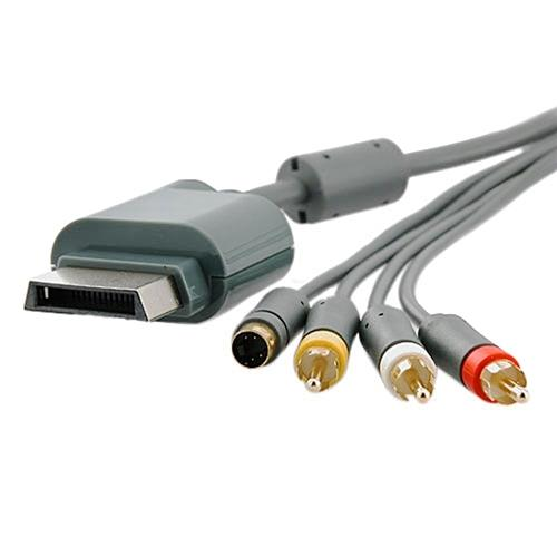 Insten AV Composite and S-Video Cable For Microsoft Xbox 360 / Xbox 360 Slim