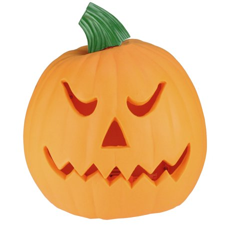9 75 Orange And Green Animated Double Sided Pumpkin